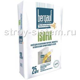 Клей для теплоизоляции Bergauf Isofix 25 кг