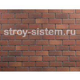 Плитка фасадная Технониколь Hauberk Терракотовый кирпич 1000х250х3,0 мм