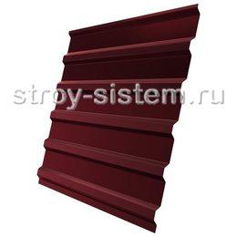 Профнастил С21 RAL 3005 винно-красный 0,45 мм