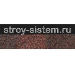 Черепица коньково-карнизная Docke PIE Standard коричневая