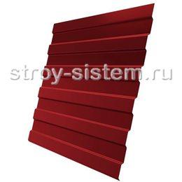 Профнастил С8 RAL 3003 рубиново-красный эконом 0,35 мм