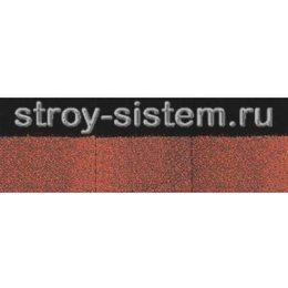 Черепица коньково-карнизная Docke PIE Standard красная