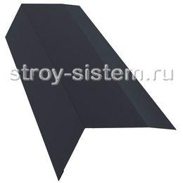 Планка карнизная Ral 7024 100х65 мм