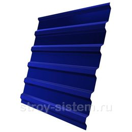 Профнастил С21 RAL 5002 ультрамариново-синий 0,45 мм