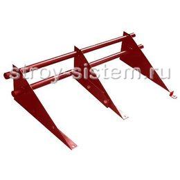Снегозадержатель трубчатый D25 Винно-красный RAL 3005