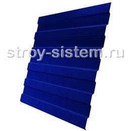 Профнастил С8 RAL 5002 ультрамариново-синий эконом 0,35 мм