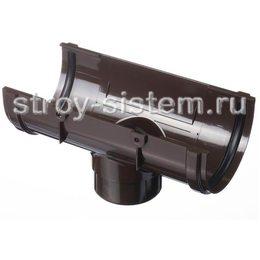 Воронка желоба Docke Premium D120/85 мм RAL 8019 Шоколад