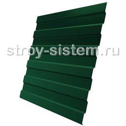 Профнастил С8 RAL 6005 зеленый мох эконом 0,35 мм