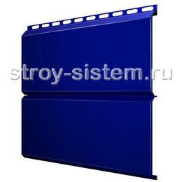 Металлический сайдинг Евробрус 0,45 мм RAL 5002 ультромариново-синий