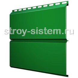 Металлический сайдинг Евробрус 0,45 мм RAL 6029 мятно-зеленый
