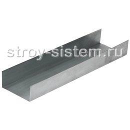 Профиль направляющий оцинкованный с полимерным покрытием 28х27х3000 мм (0,45мм)