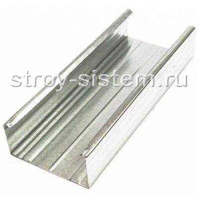 Профиль оцинкованный с полимерным покрытием 60х27х3000 мм (0,45мм)
